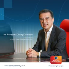 Group CEO Ramsay Sime Darby Health Care – Mr. Raymond Chong Chin Wah